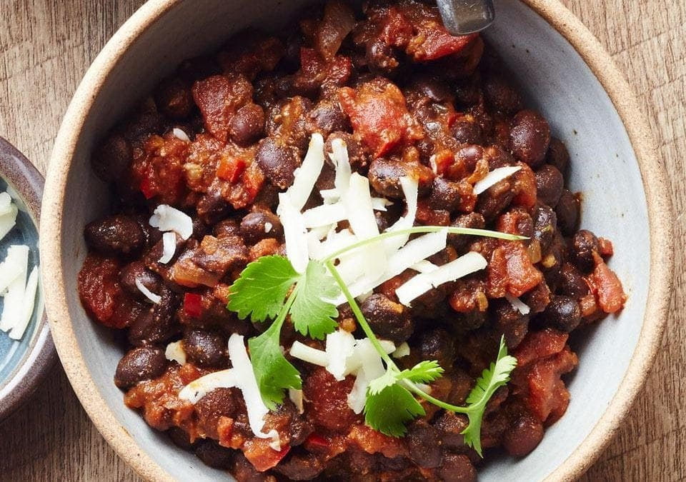 Meatless Beef + Sweet Potato Chili